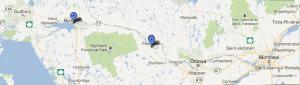 North Bay et Pembroke, Ontario