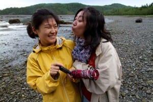 Tianyu et Ting de Rimouski